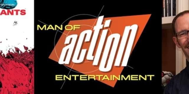 Man of Action's Joe Kelly - IKillGiants5thAnniversaryTP-Cover