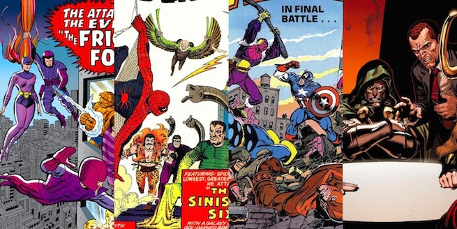 Marvel Villains Stable Banner
