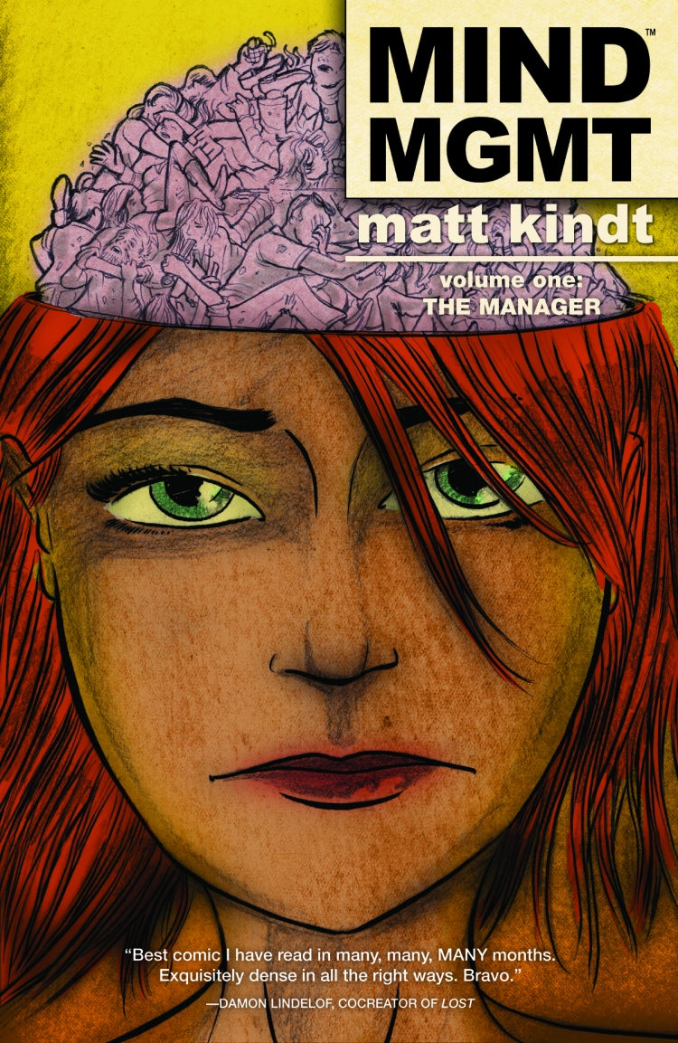 Mind MGMT hardcover 1 cover