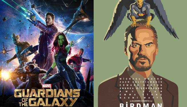 MTV Movie Awards Nominees Include Guardians of the Galaxy, Birdman and More
