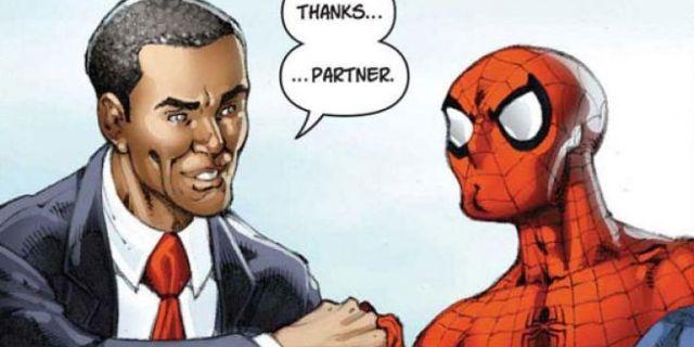 Marvel and politics. Together!