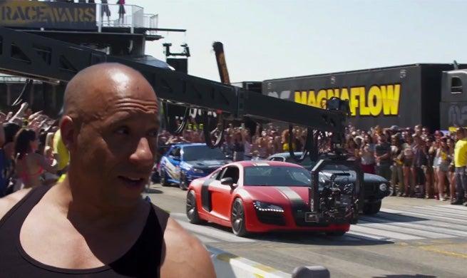 Fast & Furious 7 Race Wars Featurette Released