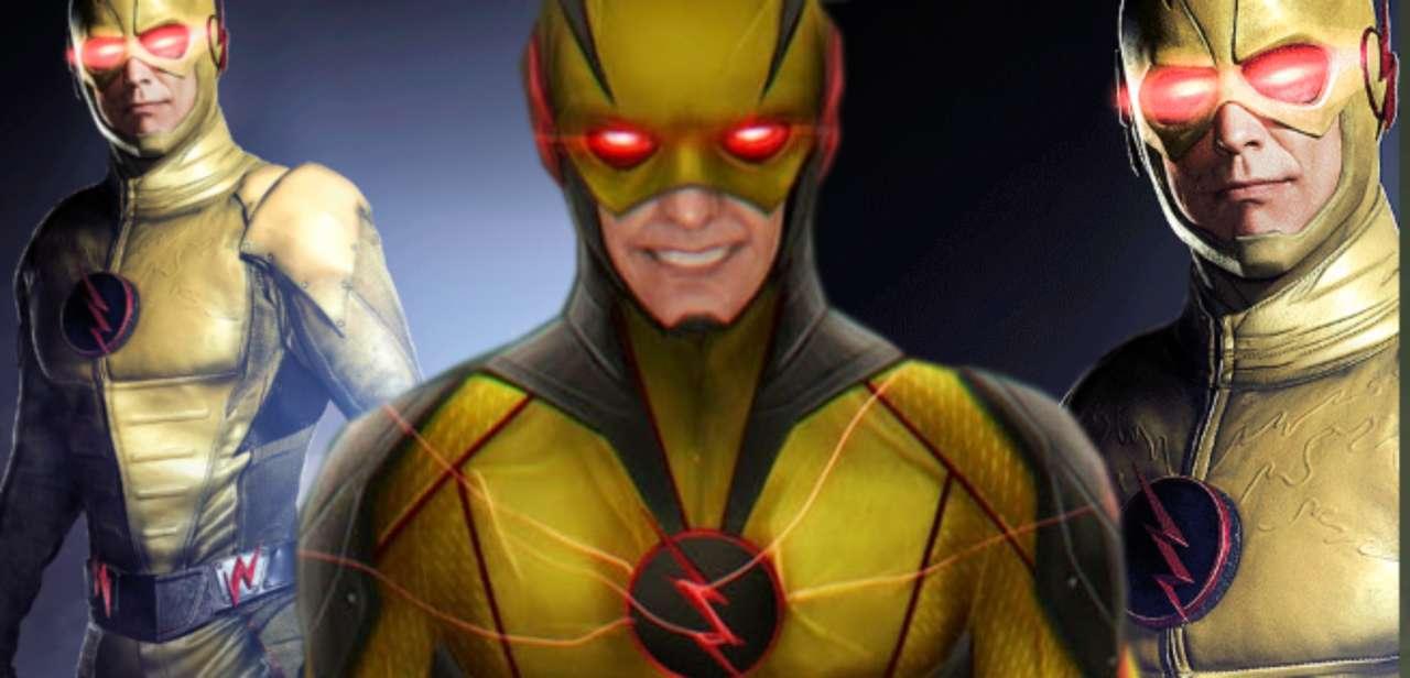 The Flash Concept Art Alternate Reverse Flash Costume Designs