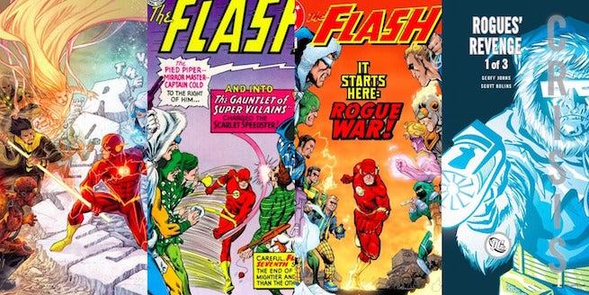 Rogues Comics Banner