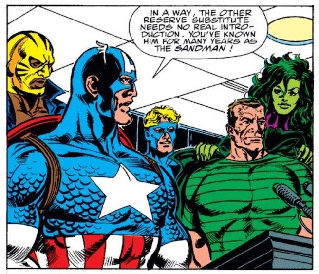 Sandman Joines Avengers