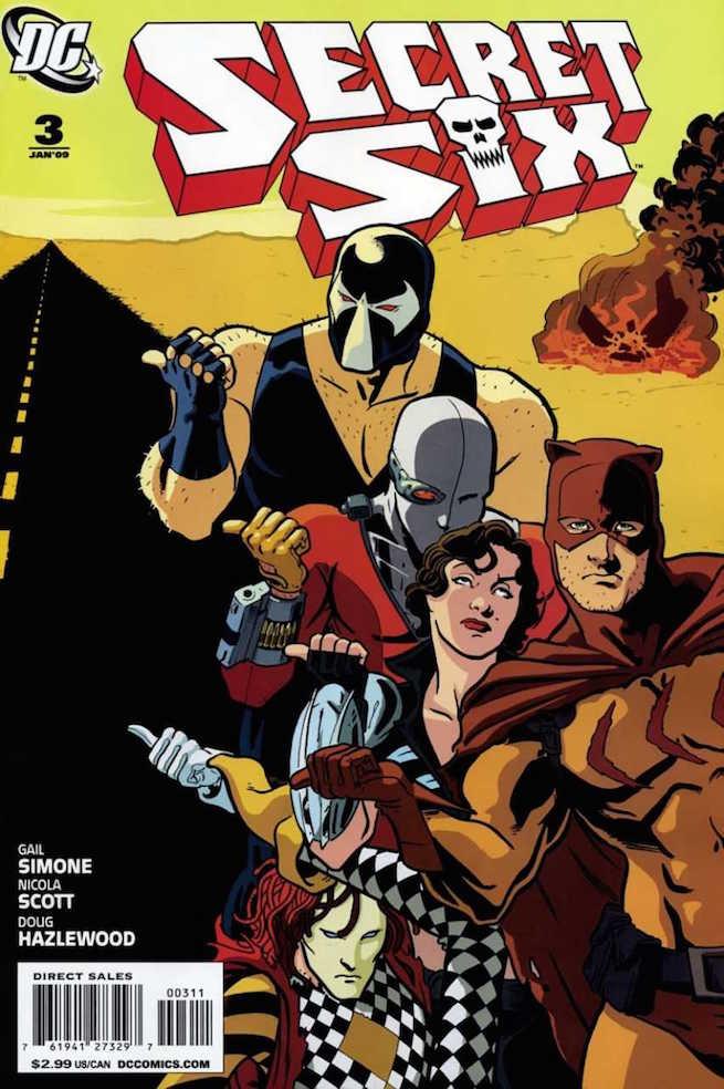 Secret Six 3 cover