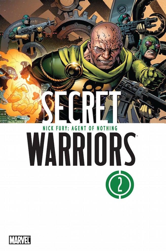 Secret Warriors 2 cover