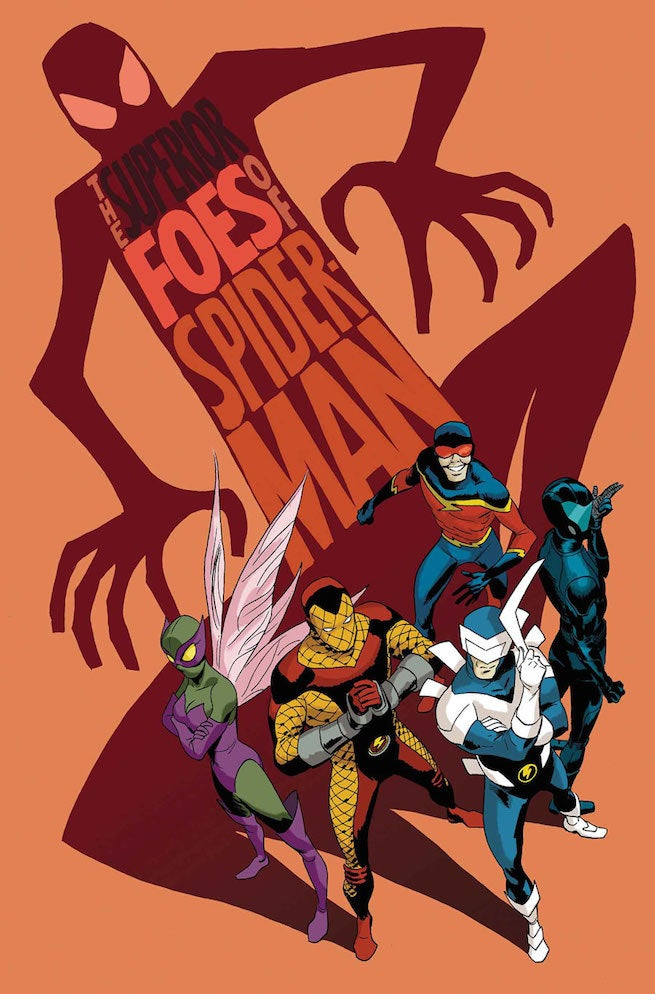Superior Foes of Spider-Man 1 cover