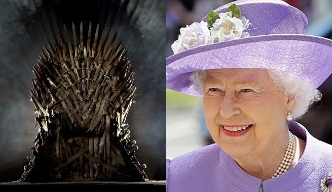 the iron throne the queen of england