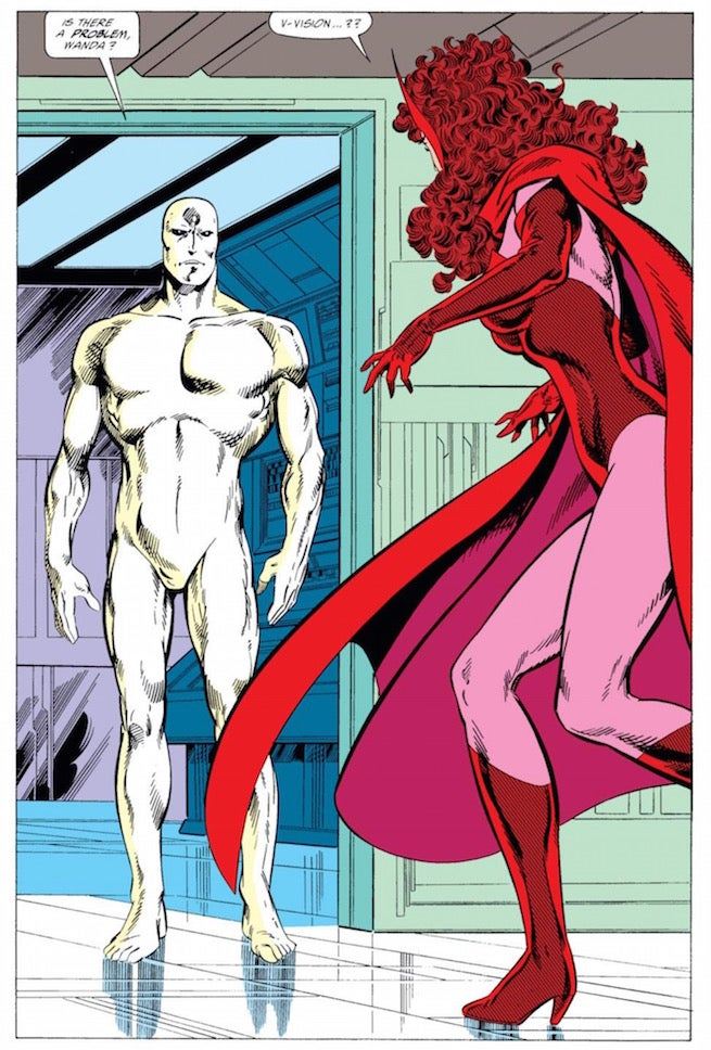 Vision new character design