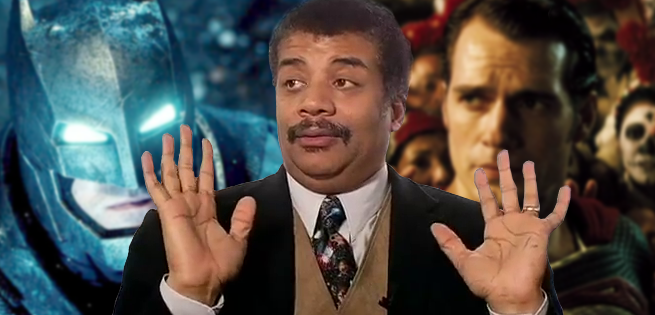 Neil deGrasse Tyson Weighs In On How Batman Could Defeat Superman