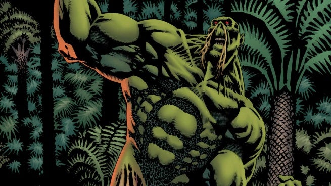 convergence swamp thing 1