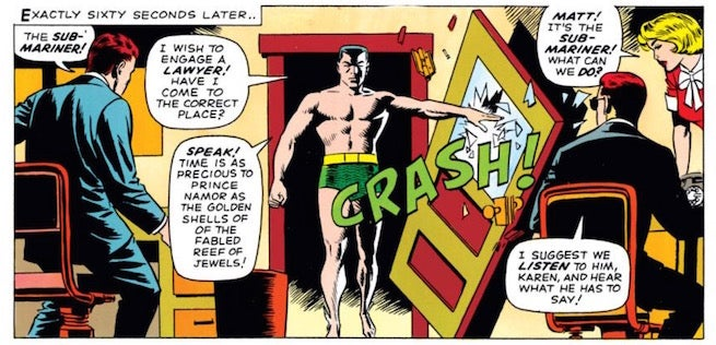 Daredevil Namor