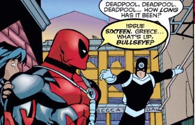 Deadpool Bullseye