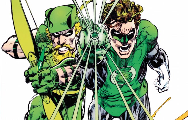 Green Arrow Green Lantern