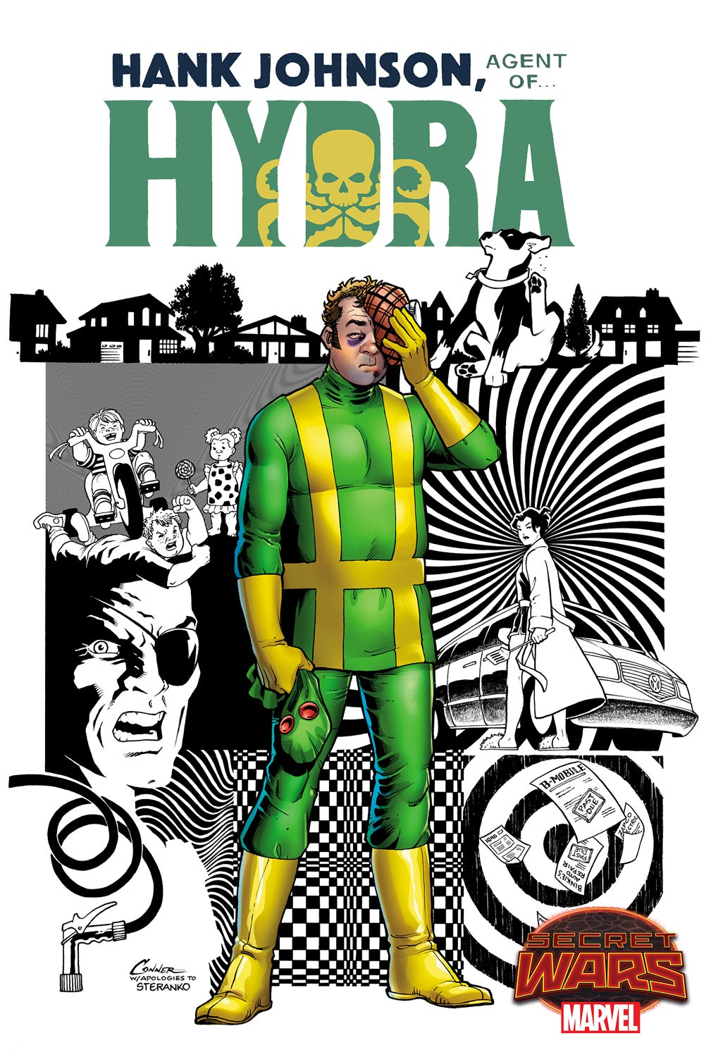 Hank Johnson Agent of Hydra Conner Cover