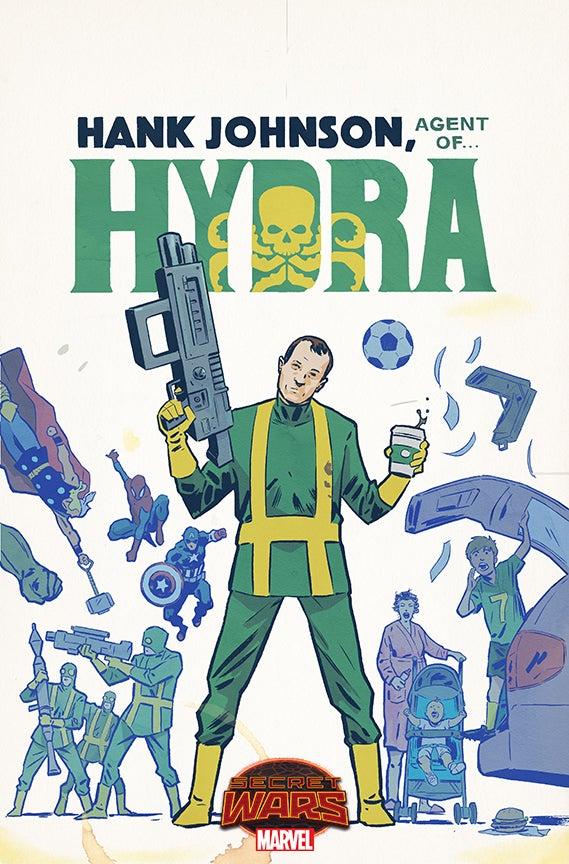 Hank Johnson Agent of Hydra Walsh Variant