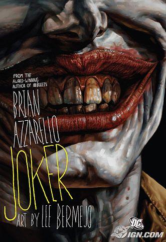 Joker graphic novel Cover