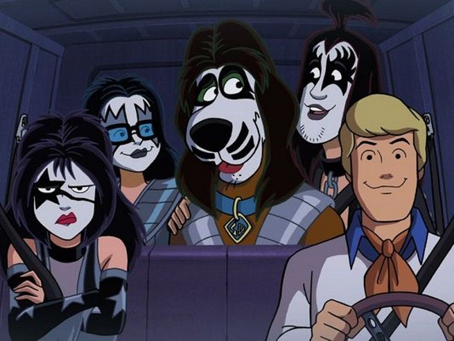 Kiss and Scooby Doo Rock and Roll Mystery