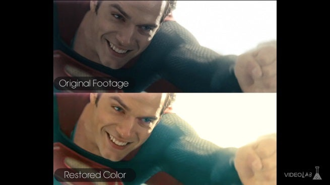 Man of Steel in color