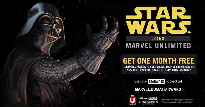 MarvelUnlimitedSale StarWars