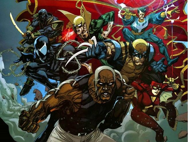 Resultado de imagem para iron fist new avengers