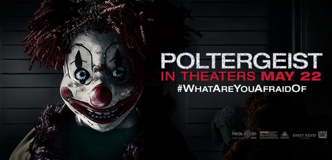 A Frightening Clown Attacks In New Poltergeist Clip