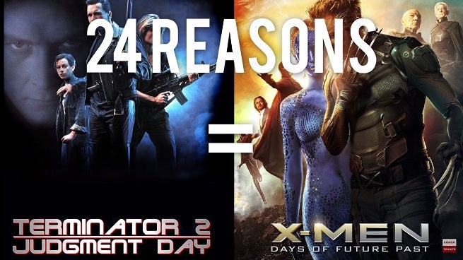 24 Reasons X: Men Days Of Future Past And Terminator Are The Same Movie