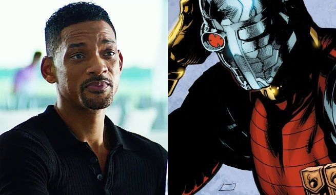 First Look At Will Smith On Set Of Suicide Squad