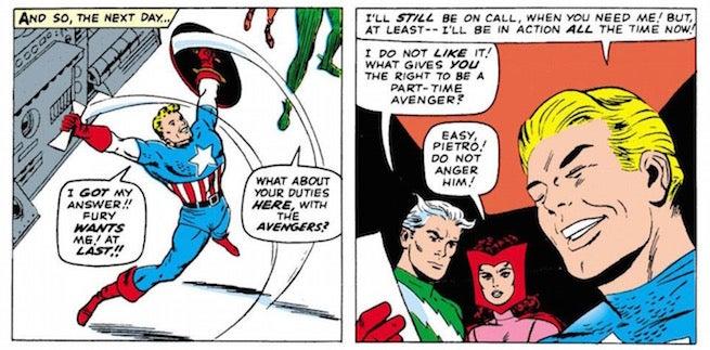 Cap and Nick Fury
