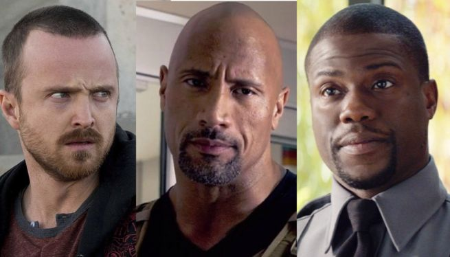 Aaron Paul To Join The Rock & Kevin Hart In Central Intelligence