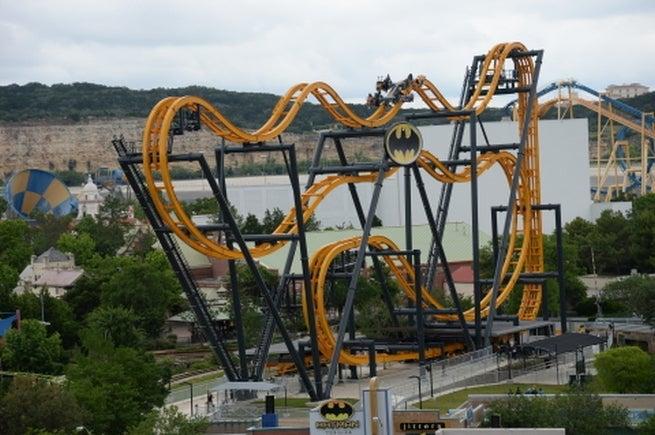 4-D Batman Roller Coaster Previewed At Six Flags