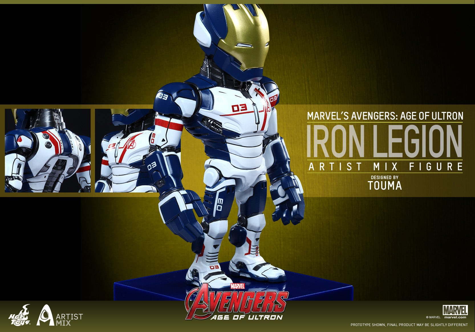 Hot Toys - Avengers - Age of Ultron - Artist Mix Figures Designed by TOUMA (Series 2)_PR16