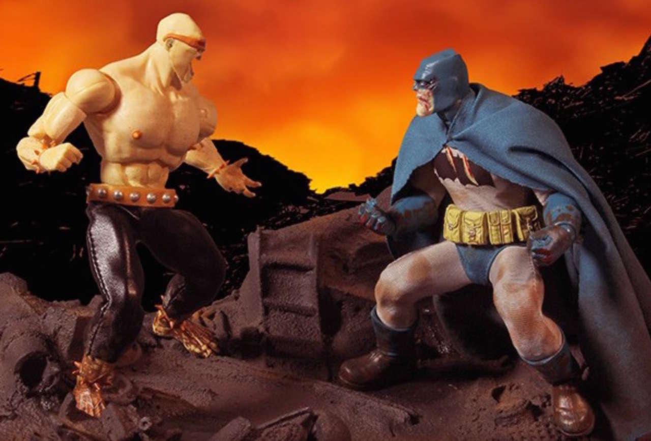 "DC Multiverse Mutant Leader Batman The Dark Knight Returns 6/"" Figure New in Box"