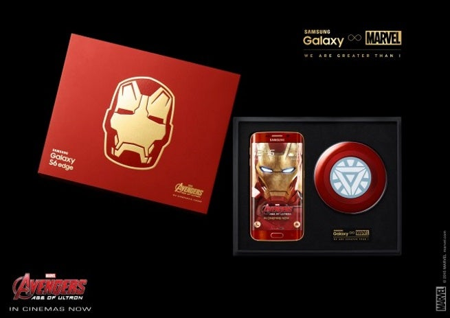 new Galaxy S6 edge Iron Man Limited Edition KV1 640