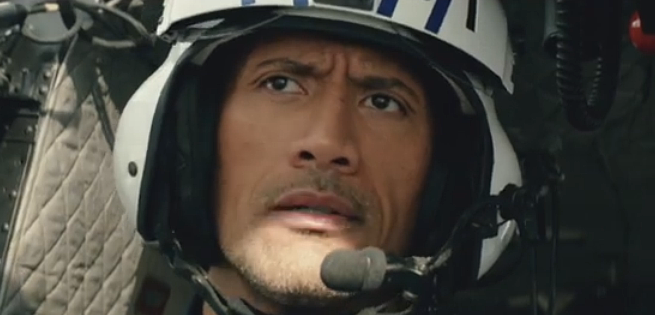 """Dwayne """"The Rock"""" Johnson Won't Crumble In New San Andreas TV Spot"""