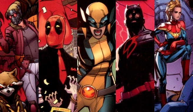 all-new all-different marvel previews