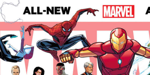 All-New All-Different Marvel Promo 1 by David Marquez
