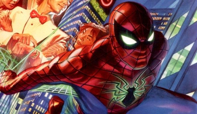 amazing spider-man top