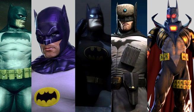 Batman skins
