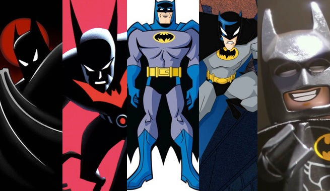 The Five Best Animated Batmen