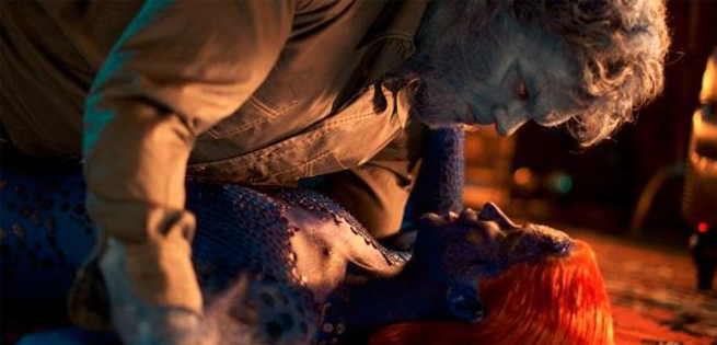 Beast & Mystique Kiss In Deleted X-Men: Days Of Future Past Scene