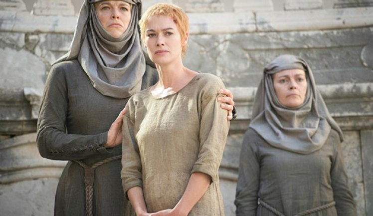 Cersei Lannister - Walk of Shame