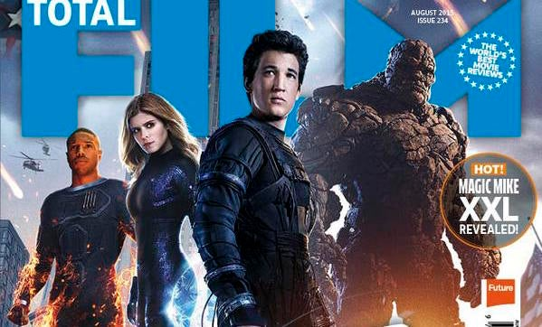 Fantastic Four Featured On Cover Of Total Film
