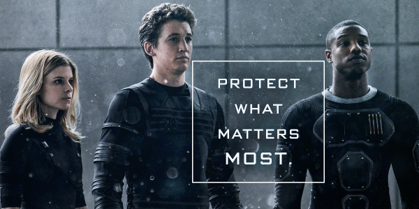 New Fantastic Four Image: Protect What Matters Most