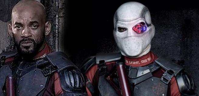 Videos: Deadshot Rappelling Down A Building On Suicide Squad Set