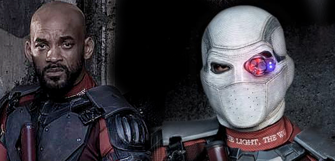 First Look At Deadshot Wearing His Mask On Suicide Squad Set