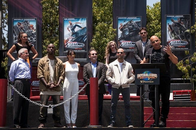 Fast & Furious Cast - June 23