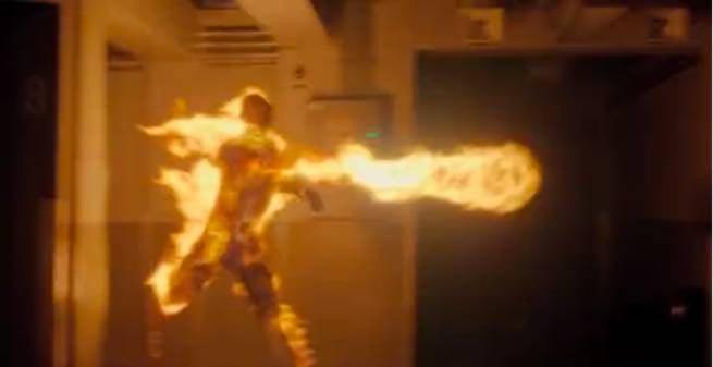 Fantastic Four review (2005) |Fantastic Four 2015 Human Torch