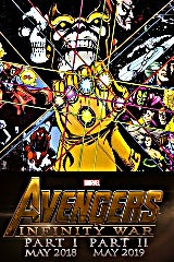 Avengers: Infinity War Part II movie poster image